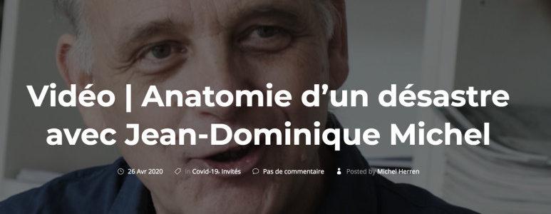JD Michel : «L'essentiel des morts sont des morts politiques»