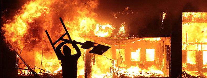 Le naufrage sans perspective des USA : le chaos, le feu et la cendre…