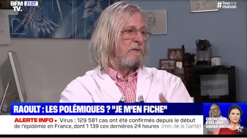 Interview : Didier Raoult ou comment terrasser le déluge des imbécillités