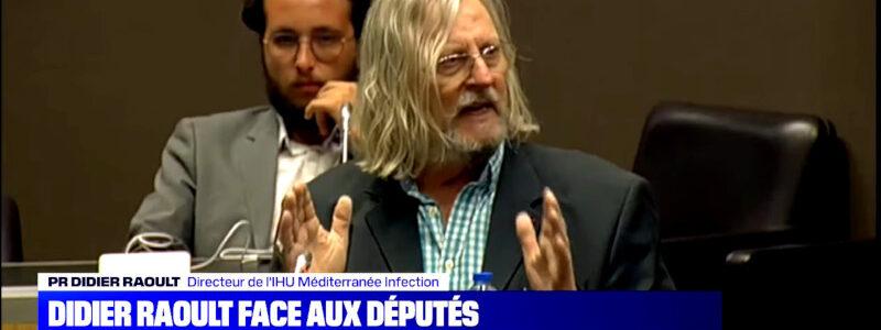Le professeur Raoult : «Les blaireaux dans leur terrier»