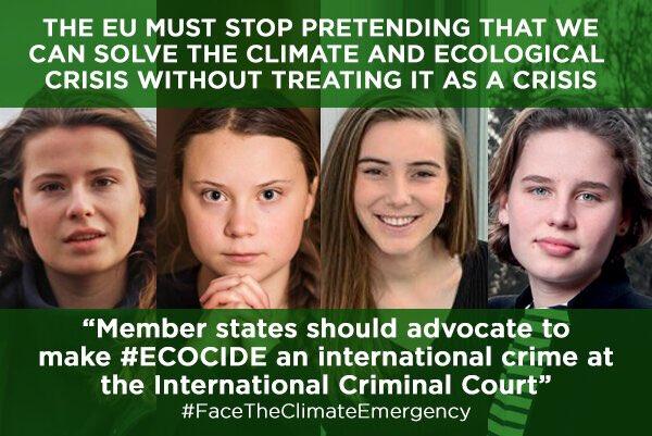 Lettre ouverte et revendications aux leaders de l'UE et du monde global