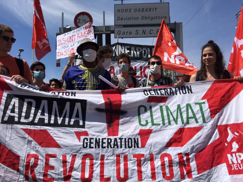 Génération Adama + génération climat = génération révolution