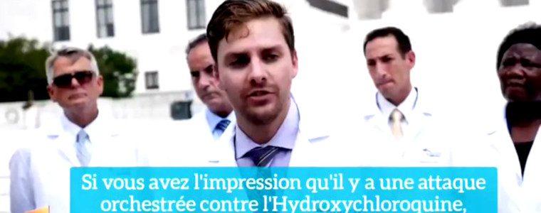 Chloroquinaphobie : des médecins US se rebiffent