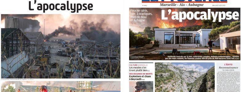 Après Beyrouth, Martigues : un seul titre pour deux tragédies