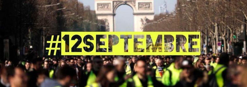 #12septembre : les Gilets jaunes battent le rappel pour une seconde vague