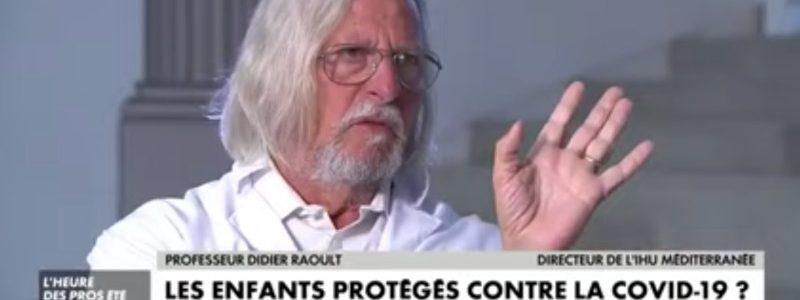 Didier Raoult : «On n'organise pas de lutte en ayant peur»