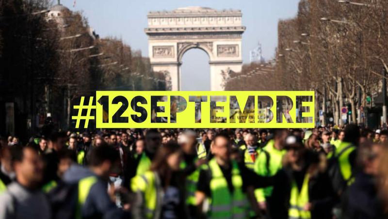 #12 septembre : en face les pétés de trouille se préparent à la révolution