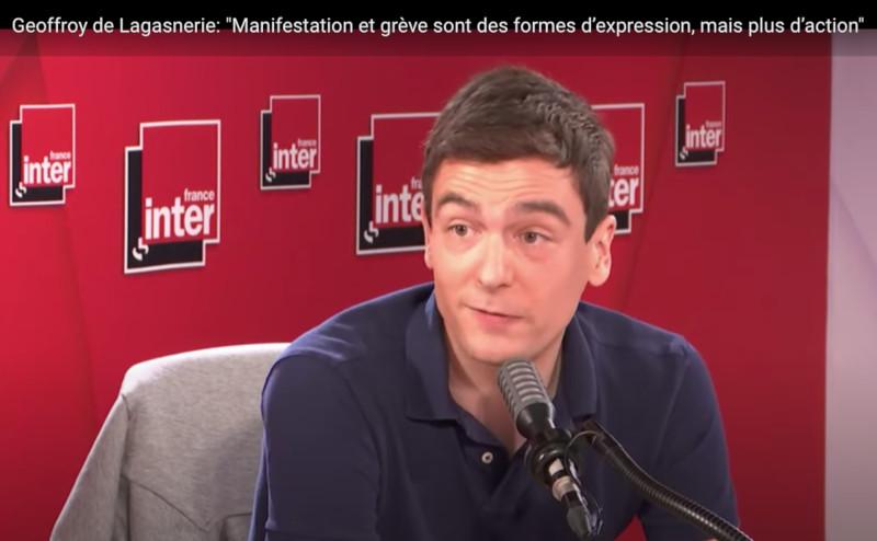 Geoffroy de Lagasnerie : l'action directe, y compris violente, est le seul moyen de faire plier les gouvernants