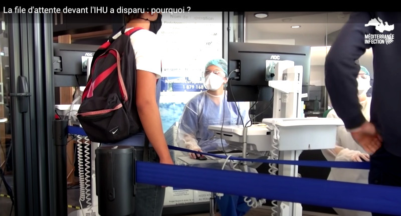Témoignage : «J'ai été soignée à l'IHU de Marseille, guérie en deux jours»