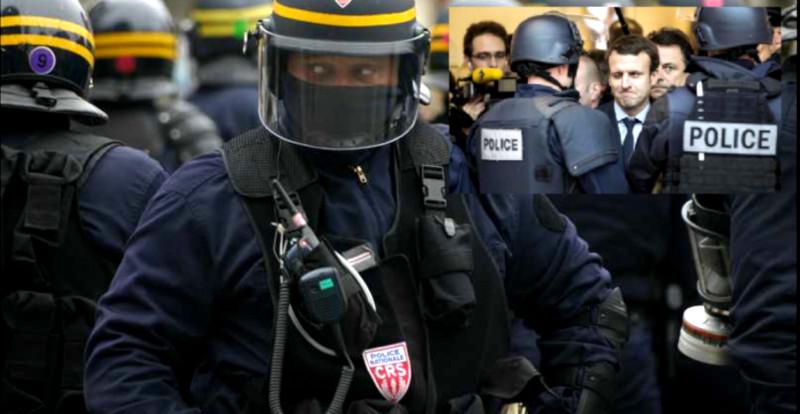 """Loi de """"sécurité globale"""" : ultimes barbelés dérisoires dressés autour du blockhaus macronien"""