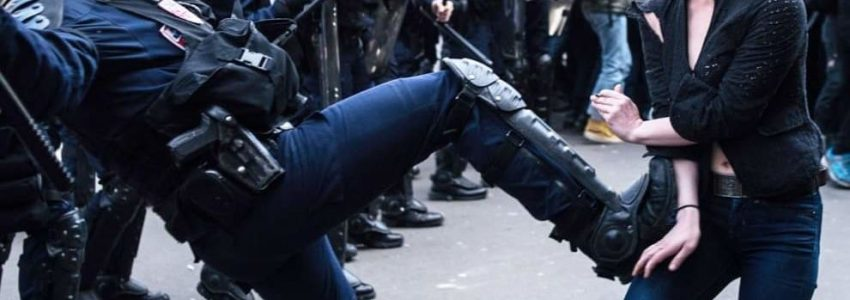 "Loi interdisant de filmer la police : des ""insurgés"" (potentiels) bien tendres"