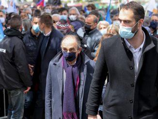 manifestation de policiers : Éric Zemmour