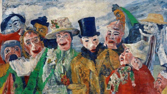 les bourgeois vus par le peintre James Ensor