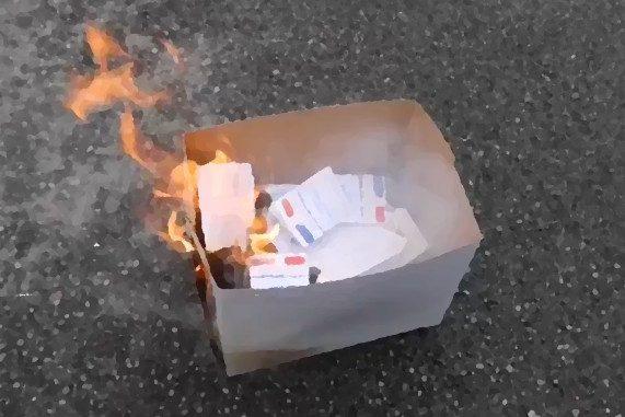 régionales : cartes d'identité brûlées à Nantes