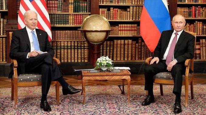 rencontre Biden Poutine
