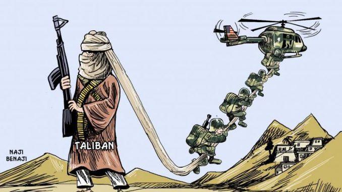 La chute de l'empire US en Afghanistan
